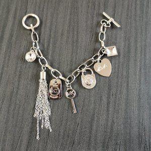 micheal kors sliver bracelet